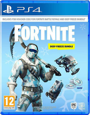 Fortnite Deep Freeze Bundle(PS4) NEW & SEALED - IN STOCK NOW!!!