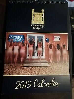 Ladies naked Calendar 2019 - Thorney Rugby Club Peterborough