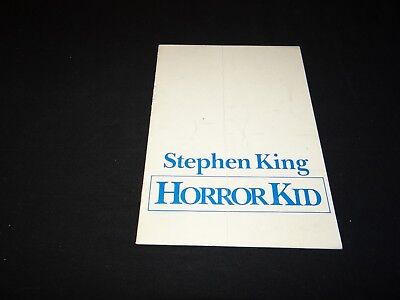 HORROR KID Children of the Corn dossier presse cinema fantastique stephen king