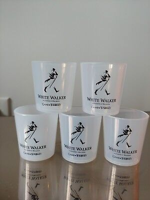 Johnnie Walker Game Of Thrones NYCC 2018 White Walker Plastic Cups