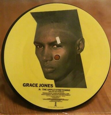 Grace Jones - The Apple Stretching - 7'' Picture Disk