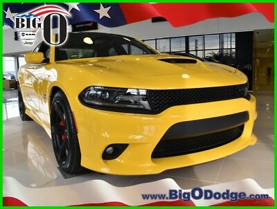 2018 Dodge Charger SRT 392 2018 Dodge Charger SRT 392 New 6.4L V8 16V Automatic RWD Sedan Premium