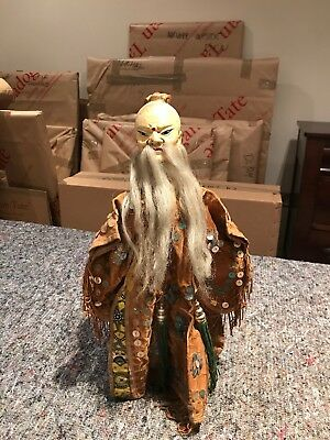 Vintage Asian Hand Puppet