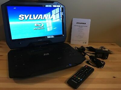 "11.4/"" Portable Blu-ray Player Sylvania Black"