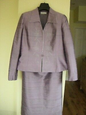 CONDICI Shot Silk, Lilac  Skirt, Top and Jacket size 16