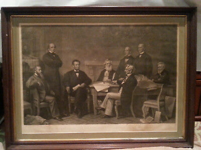 ABRAHAM LINCOLN DOCUMENT & ARTIFACT Early PHOTOGRAPH & EMANCIPATION PROCLAMATION