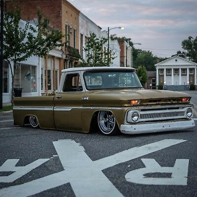 "1965 Chevrolet C-10 custom 1965 Chevy C10 truck SWB Bagged - Air Ride - Frame Off - Chevrolet ""Fool's Gold"""