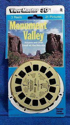 Monument Valley 3-reel Set 5300 on Blister Card - View-Master