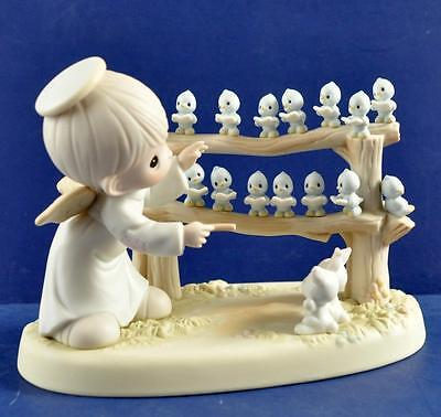 Vintage 1992 Precious Moments 15Th Anniversary Commemorative Figurine Mib