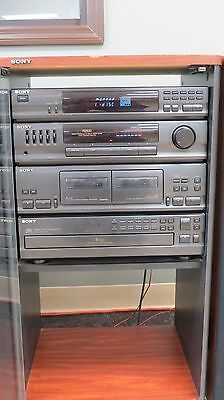 Sony R2500 Stereo (in cabinet with 2 speakers)