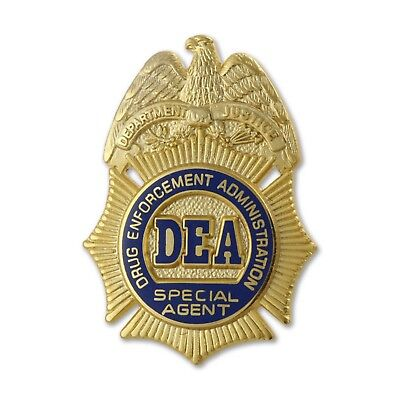 """Dea 1"""" Special Agent Badge Lapel Pin * Look At 2Nd Photo!"""