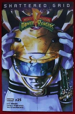 Mighty Morphin Power Rangers Issue #25 Yellow Ranger Variant Shattered Grid BOOM