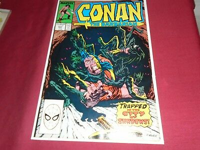CONAN THE BARBARIAN #217 Marvel Comics VF