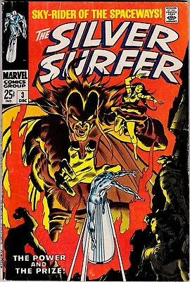 Silver Surfer #3 1st Mephisto! Classic Cover VG-FN
