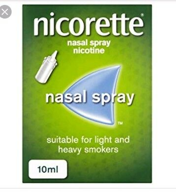 Nicorette Nasal Spray - 10ml - x 2 boxes 20ml altogether