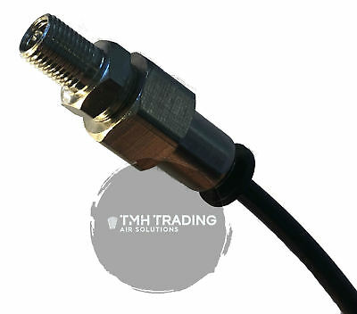 4MM Air Quick Push Connect to Schrader Tyre Valve - Hyundai Air Suspension