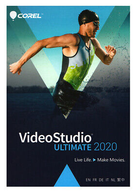 Corel VideoStudio Ultimate 2018 - Brand New Retail Box and Download