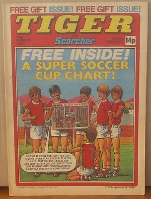 TIGER and SCORCHER 16th August 1980 Johnny Cougar Hotshot Hamish Billy's Boots