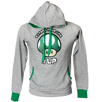 Super Mario / Extend your life / Girlie Hoodie