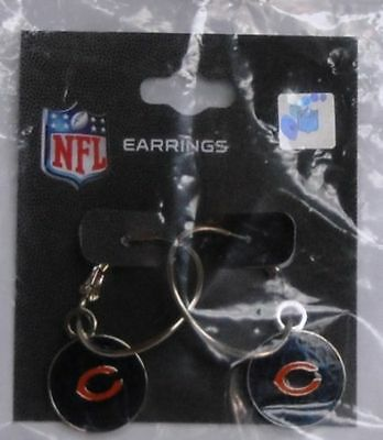 Chicago Bears Logo NFL Hoop Earrings LAST ONE TOTAL CLOSEOUT