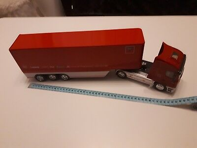 Iveco stralis Lkw mit Trailer rot groß