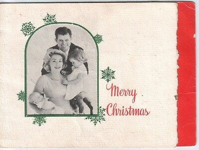 Edward M. (Ted) KENNEDY Family, Two Photo Christmas Cards from the 1960s