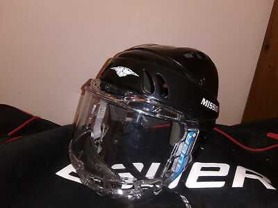 Mission M-15 Ice Hockey Helmet with Bauer Concept 3 Sr Full Shield