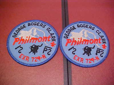 George Rogers Clark Philmont Patches