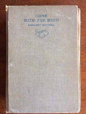 Vintage Book : GONE WITH THE WIND By: Margaret Mitchell 1936