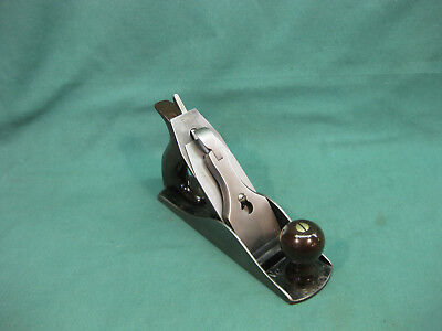 STANLEY BAILEY No.4 SMOOTH PLANE WITH TRIPPLE PATENT DATES