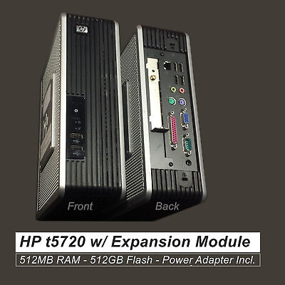 HP Compaq t5720 Thin Client AMD NX1500  w/ PCI Expansion   EG84AA#ABA 404814-001