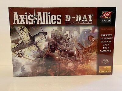 NEW SEALED Axis & Allies D-Day:  Avalon Hill WWII Military Board Game