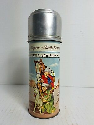1957 Roy Rogers/Dale Evans Double R Bar Ranch Thermos Bottle
