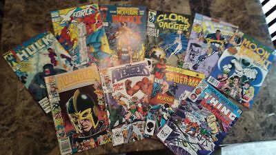Marvel Copper Age lot (50 issues).  All pictured.