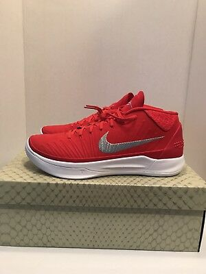 low priced f9a8f b991f Nike Kobe Ad Tb Promo Mid Size 12 Basketball Shoes Kobe Bryant Shoes Red  White