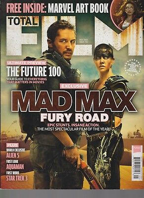 Total Film Magazine Uk #231 May 2015, Mad Max Fury Road.