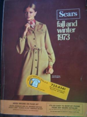 1973 Sears Fall and Winter Catalog - Fashions Household Lingerie Linens and More