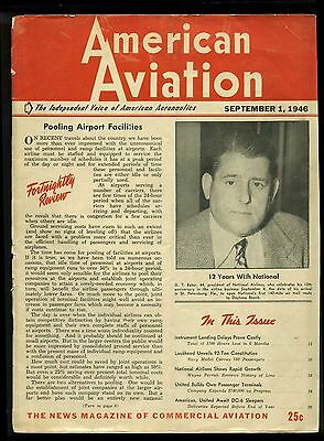 National Airlines Article 1946 AMERICAN AVIATION Magazine from RARE Collection