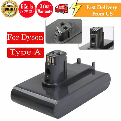 DC31 22.2V 3.0Ah Lithium Battery Replace for Dyson Vacuum DC34 DC35 DC44 Type A