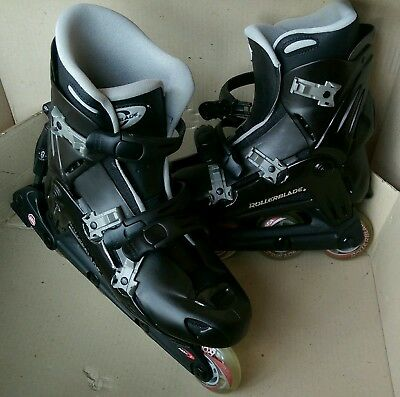 Viablade Parkway Rollerblades As New Boxed Mens Black US 10 EU 43 M 28 0
