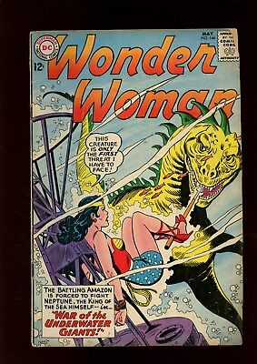 Wonder Woman 146 VG 3.5 * 1 Book Lot * Robert Kanigher & Ross Andru!