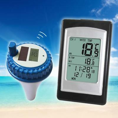 Digital Wireless Float Receiver Thermometer Swimming Pool Bathtub Pond  SPA