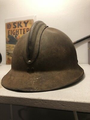 Adrian Helmet Spanish Civil War