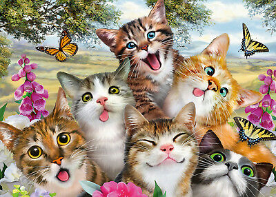 DIY 5D Diamond Painting Full drill Animal Cat Butterfly Flower Fashion 1083Y