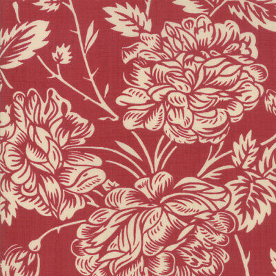 Moda LA VIE EN ROUGE Pearl 13822 16 Fabric By The Yard French General