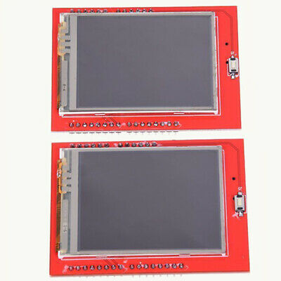 "2.4"" TFT LCD Display Shield Touch Panel ILI9341 240X320 for Arduino UNO ZH6 DIY"
