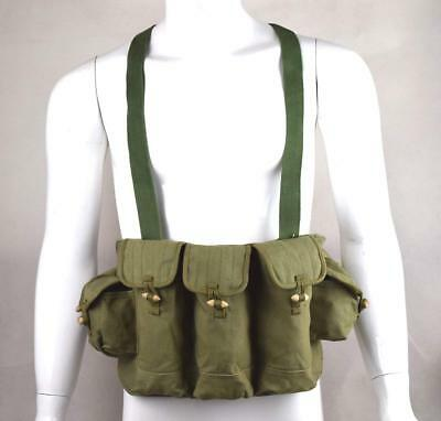 Military Tactical Surplus Vietnam War Chinese Type 56 Chest Rig Ammo Pouch