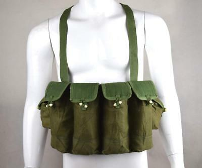 Military Tactical Surplus Vietnam War Chinese Type 81 Chest Rig Ammo Pouch