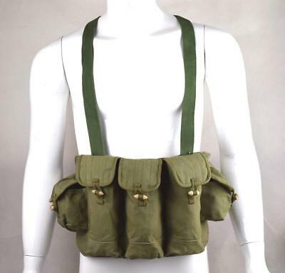 New Military Tactical Vietnam War Chinese Type 56 Chest Rig Ammo Pouch