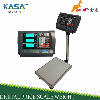 Electronic Digital Computing Price Scale Weight Shop Postal Industrial 150 KG